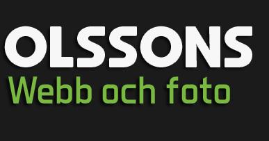 Logo - Olssons Webb & Foto i Helsingborg