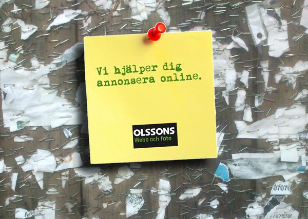 Annonsera online - Olssons Helsingborg