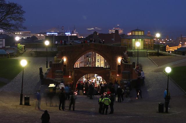 Fotograf Helsingborg - foto från händelsena vid allsvenska premiären i mars 2014 i Helsingborg
