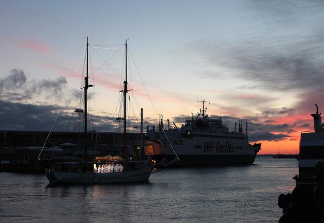 Fotografering av lucia i Helsingborg av fotograf Freddy Olsson i Helsingborg