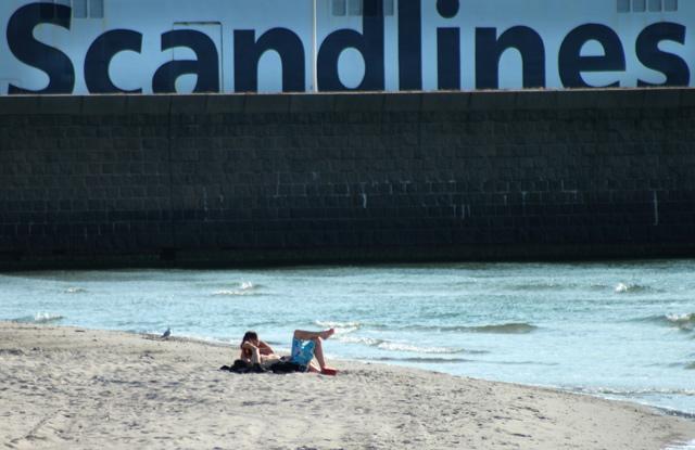 Fotograf Helsingborg - Scandlines och tropical beach Helsingborg