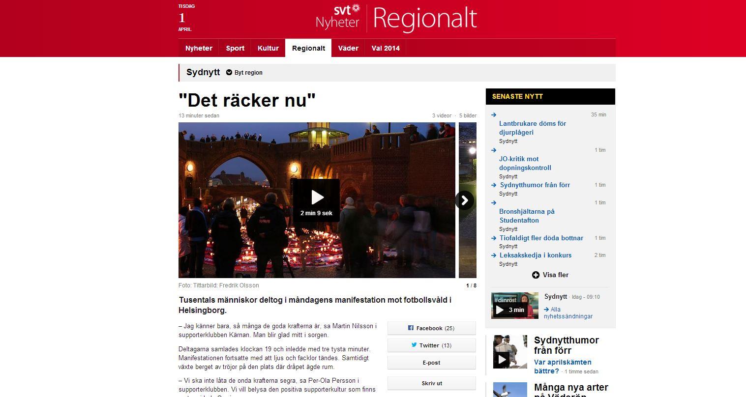 Fotograf Helsingborg - Helsingborg-Djurgården - minnesplats