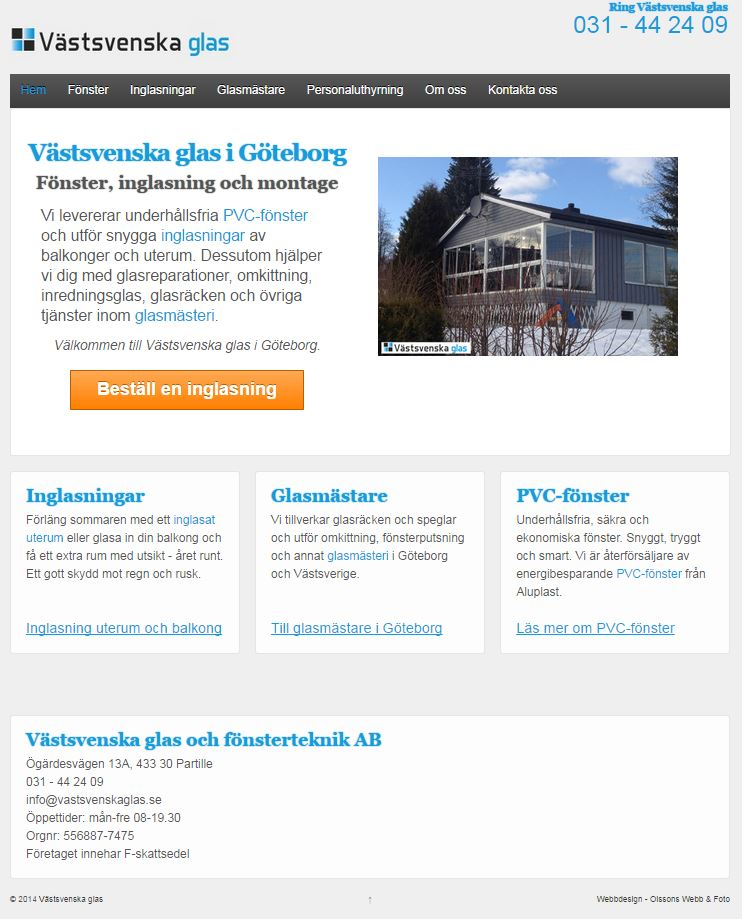 Webbdesign i Helsingborg - design av wordpress