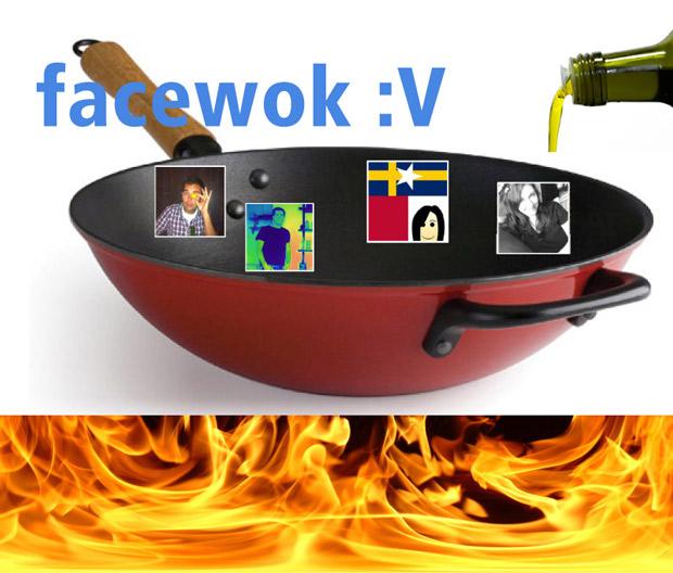 Facewok - en social middag med facebookvännerna.