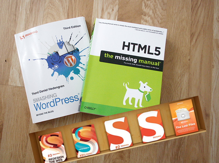 Smashing Books, WordPress och HTML5 - boktips