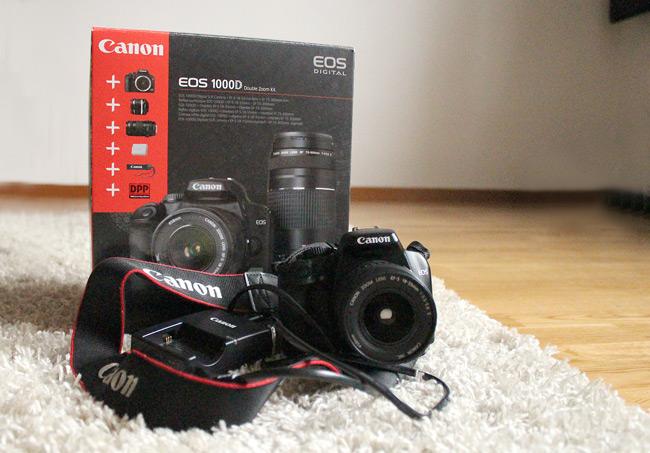 Canon EOS 1000D säljes