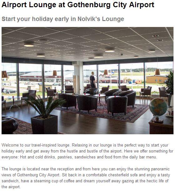 Copywriter i Helsingborg - text till en Lounge