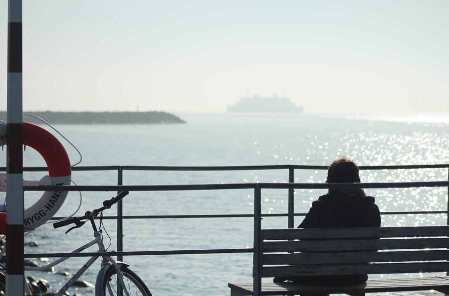 Solar vid havet i Helsingborg