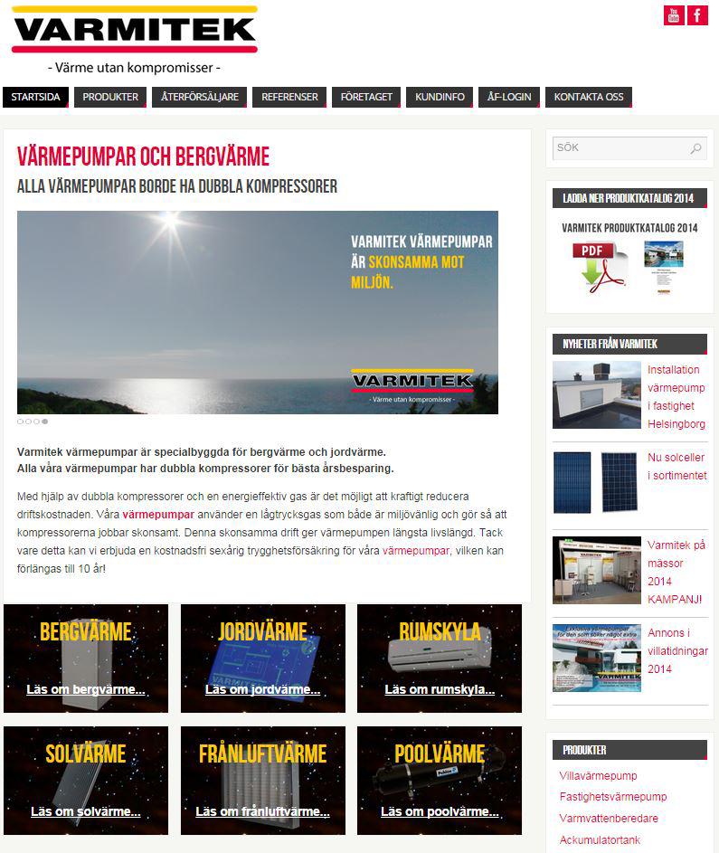 Hemsida - webbdesign WordPress åt företag i Helsingborg