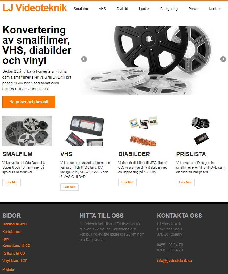 Hemsidor i Helsingborg - teknik