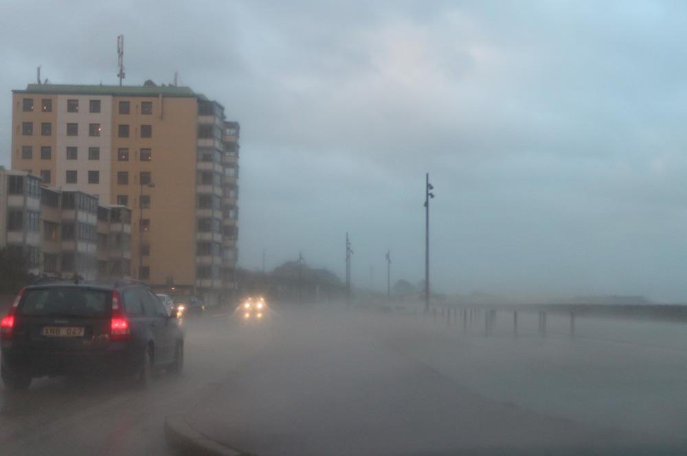 Stormen Simone i Helsingborg
