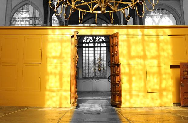 Oudekerk i Amsterdam - ett weekendbesök