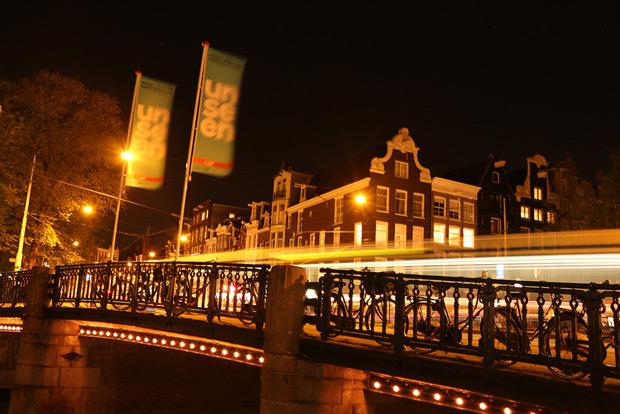 Nattbron - en bild från weekendresan till Amsterdam 2013