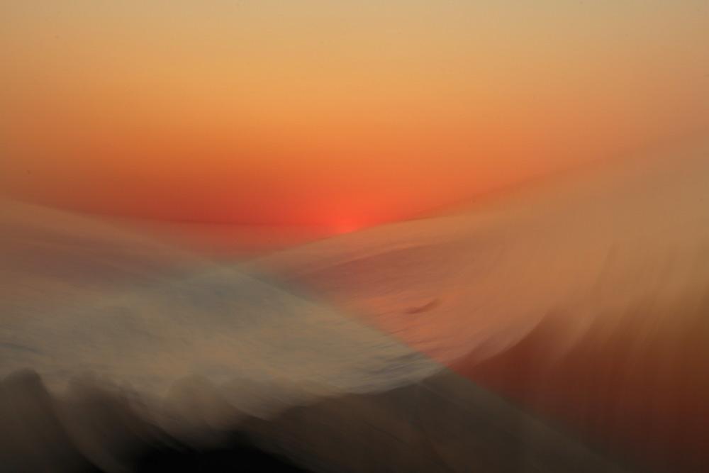 Kreativ solnedgångsbild