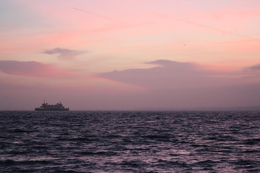 Naturfotografering av himmel och hav