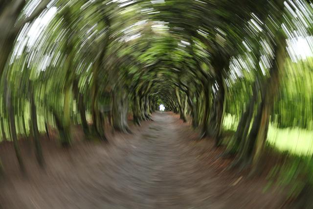 Fototeknik för en cool tunneleffekt
