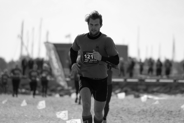 Running in Toughest Race Copenhagen