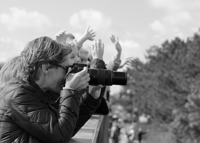 Fotografer och fans på Toughest Copenhagen