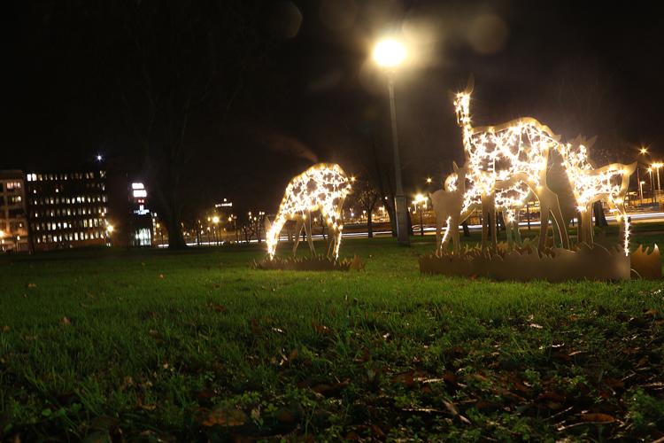 Ljusinstallation Helsingborg