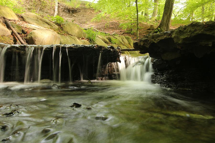 Pålsjö skog Helsingborg - vattenfall